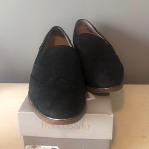 Leather Black Haydrian Loafers